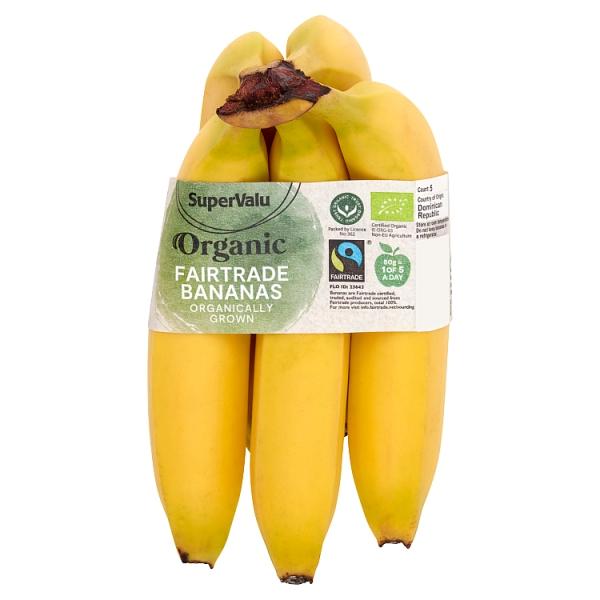 SuperValu Fairtrade Organic Bananas