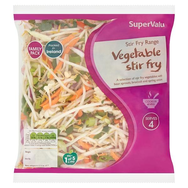 SuperValu Vegetable Stirfry