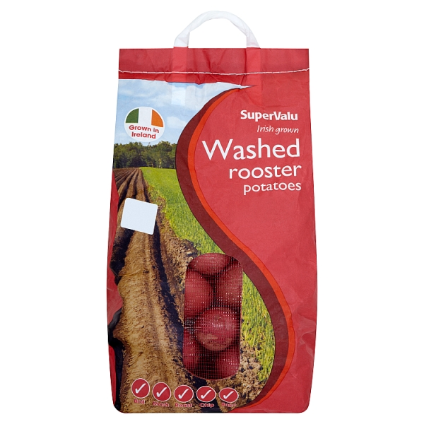 SuperValu Irish Washed Rooster Potatoes