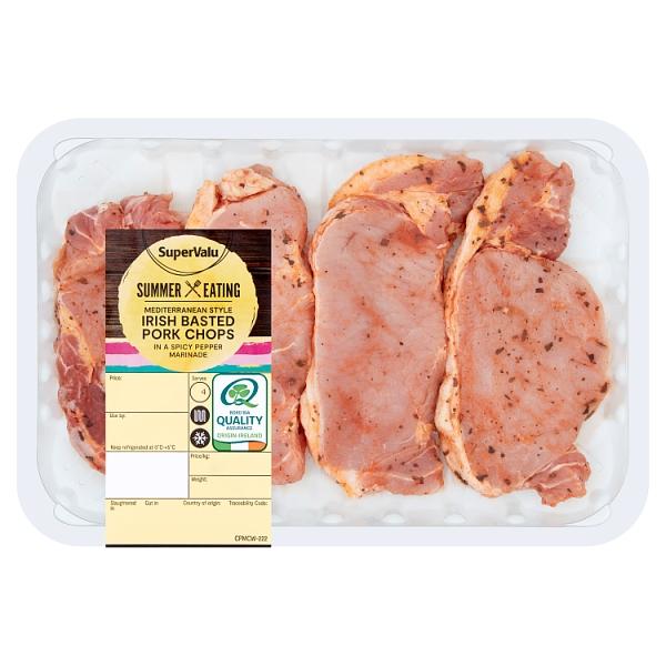 SuperValu Mediterranean Basted Irish Pork Chops
