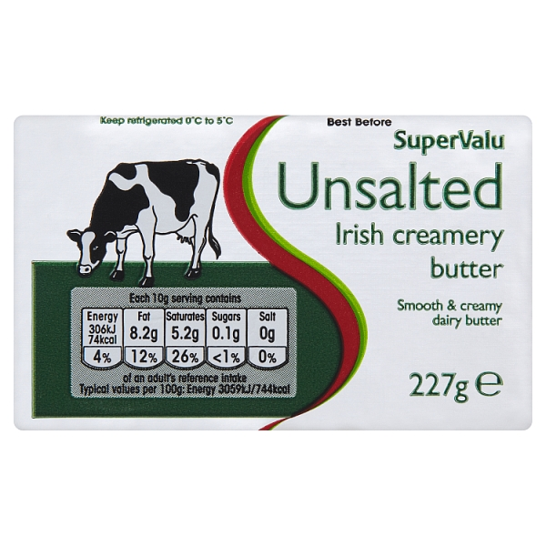 SuperValu Unsalted Butter