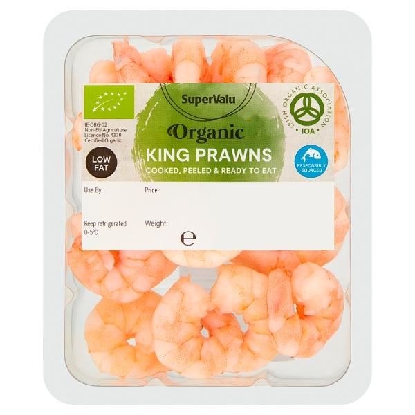 SuperValu Organic King Prawns