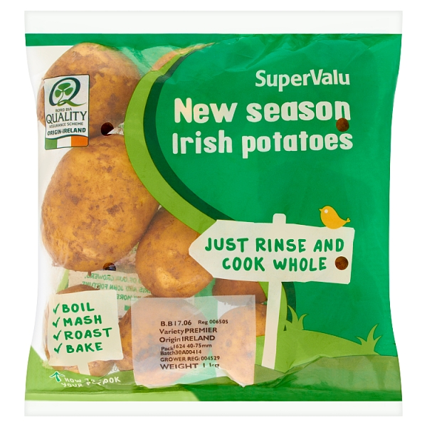 SuperValu New Season Irish Potatoes