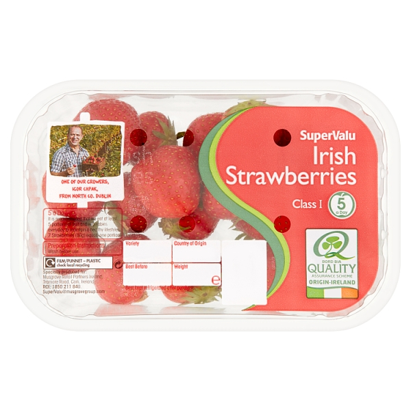 SuperValu Irish Strawberries