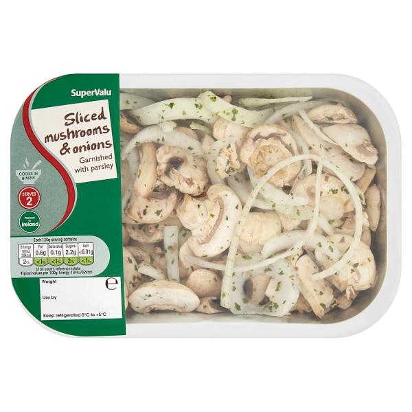 SuperValu Sliced Mushrooms & Onion (240 Grams)