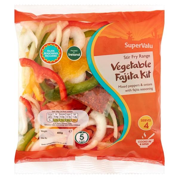 SuperValu Vegetable Fajita Kit