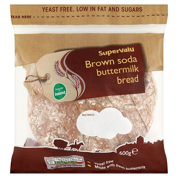 SuperValu Buttermilk Brown Soda Bread