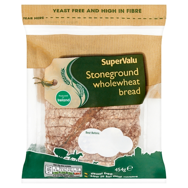 SuperValu Stoneground Wholewheat Bread