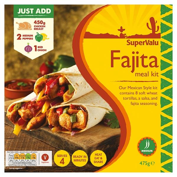 SuperValu Fajita Meal Kit