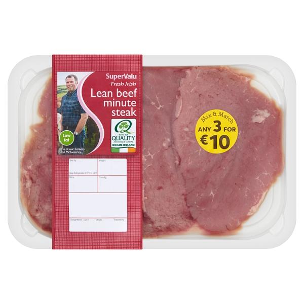 SuperValu Irish Minute Steak