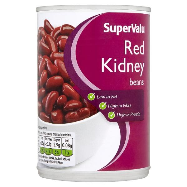 Supervalu Red Kidney Beans 400 G