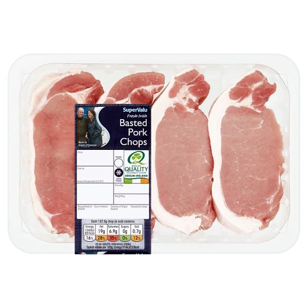 SuperValu Basted Pork Chops