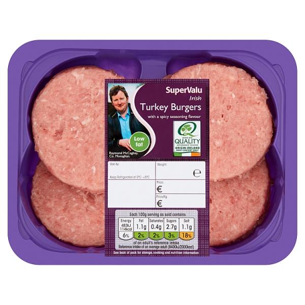 SuperValu Turkey Burger