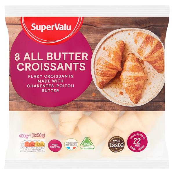 SuperValu All Butter Croissants 8 Pack