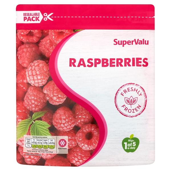 SuperValu Frozen Raspberries