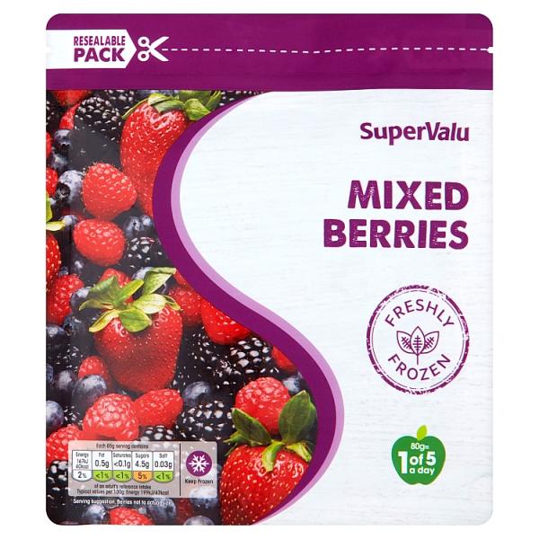 SuperValu Frozen Mixed Berries