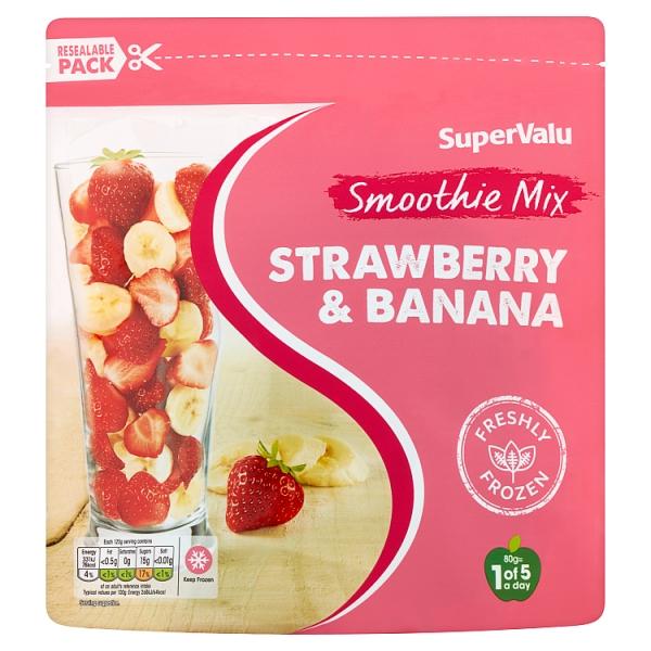 SuperValu Strawberry & Banana Smoothie Mix