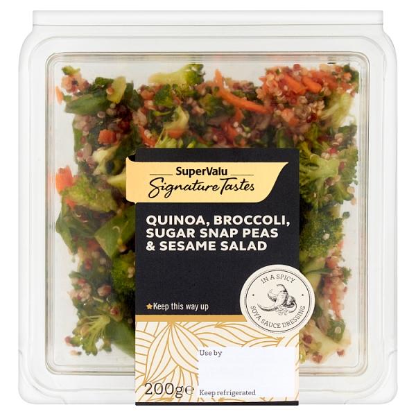Signature Tastes Quinoa, Sugarsnap Peas & Peanut Salad