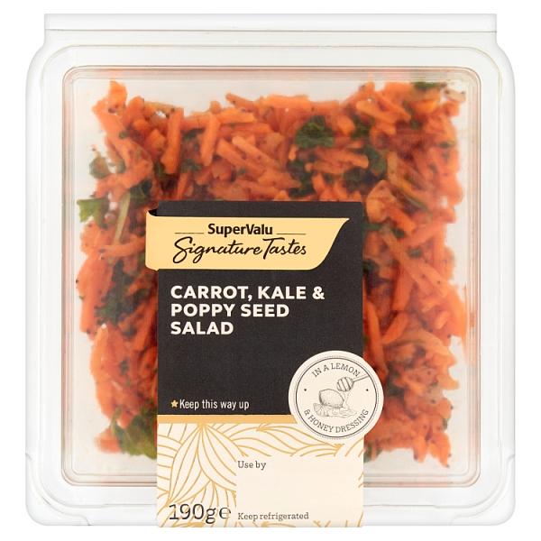 Signature Tastes Carrot, Kale & Toasted Almond Salad