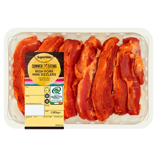 SuperValu BBQ Irish Pork Mini Sizzlers