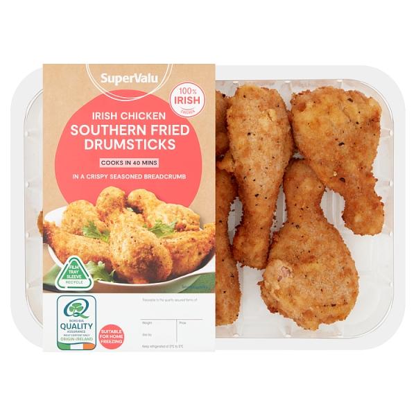 SuperValu Breaded Chicken Drumsticks Promo