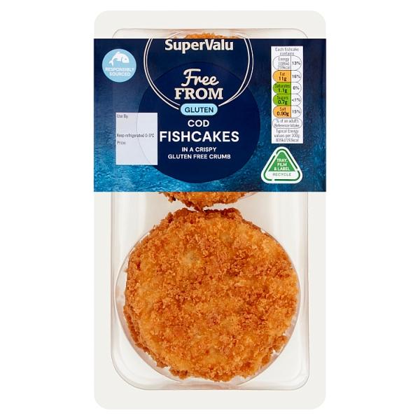 SuperValu Gluten Free Cod Fishcakes