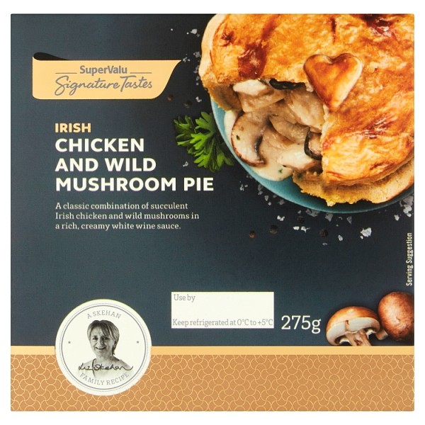 Signature Tastes Chicken & Mushroom Pie (275 Grams)