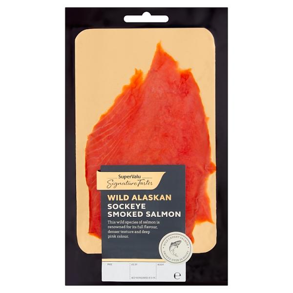 Signature Tastes Wild Alaskan Sockeye Smoked Salmon