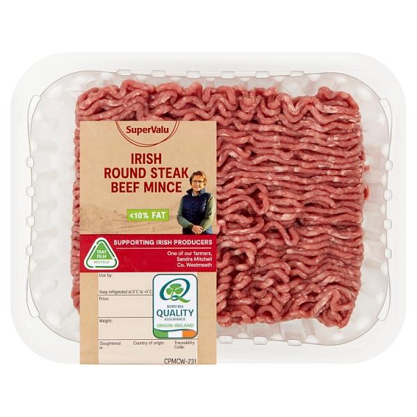 SuperValu Beef Round Steak Mince