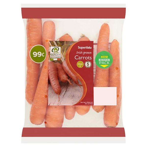 SuperValu Irish Grown Carrots
