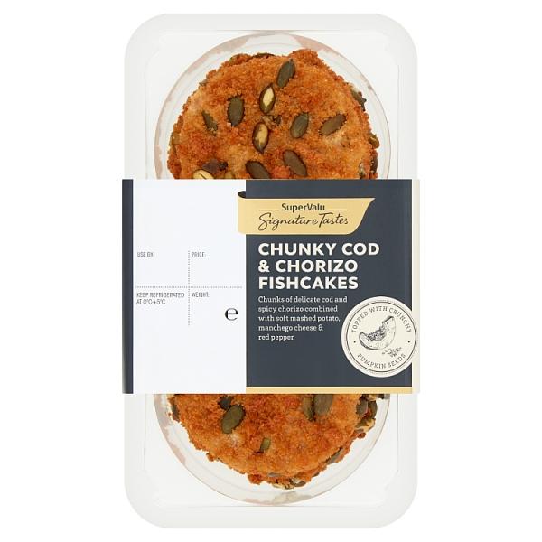 Signature Tastes Cod & Chorizo Fishcakes