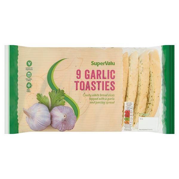 SuperValu Garlic Toasties 9 Pack