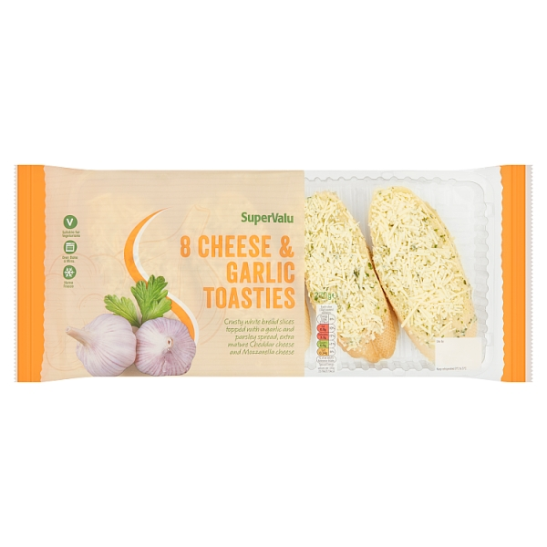 SuperValu Cheese & Garlic Toasties 8 Pack