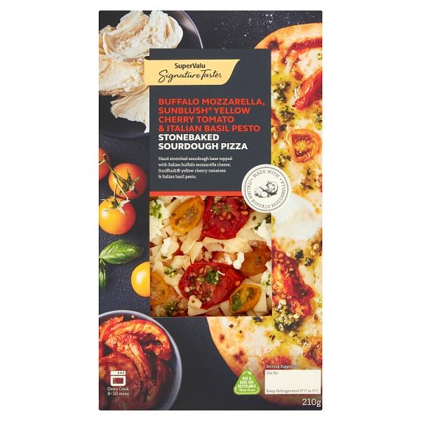Signature Tastes Buffalo Mozzarella & Cherry Tomato Pizza