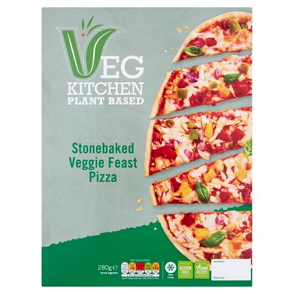 Vegetable Kitchen Veggie Feast Pizza