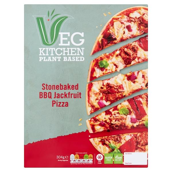 Vegetable Kitchen BBQ Jackfruit Pizza