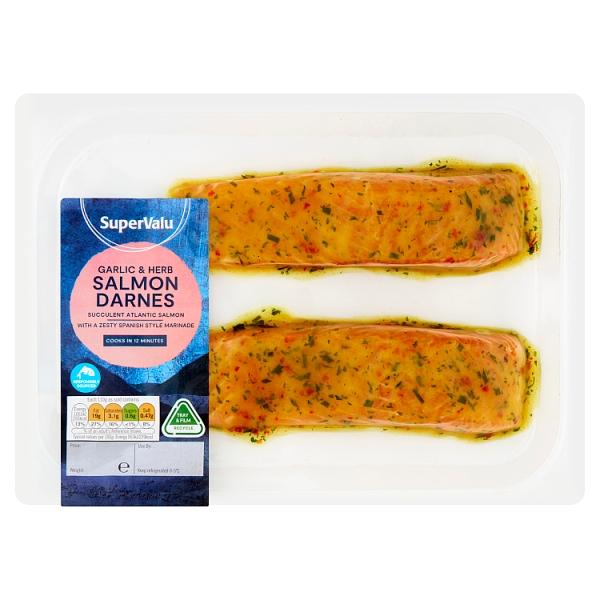SuperValu Garlic & Herb Salmon