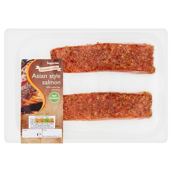 SuperValu Asian Style Salmon