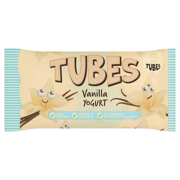SuperValu Tubes Vanilla Yogurt 9 Pack