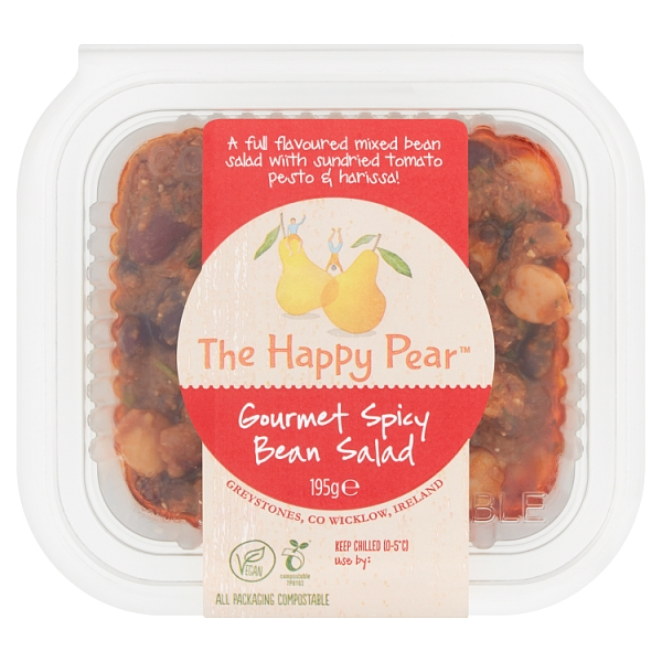 The Happy Pear Gourmet Spicy Bean Salad