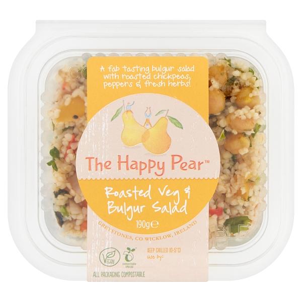 The Happy Pear Roasted Veg & Bulgur Salad
