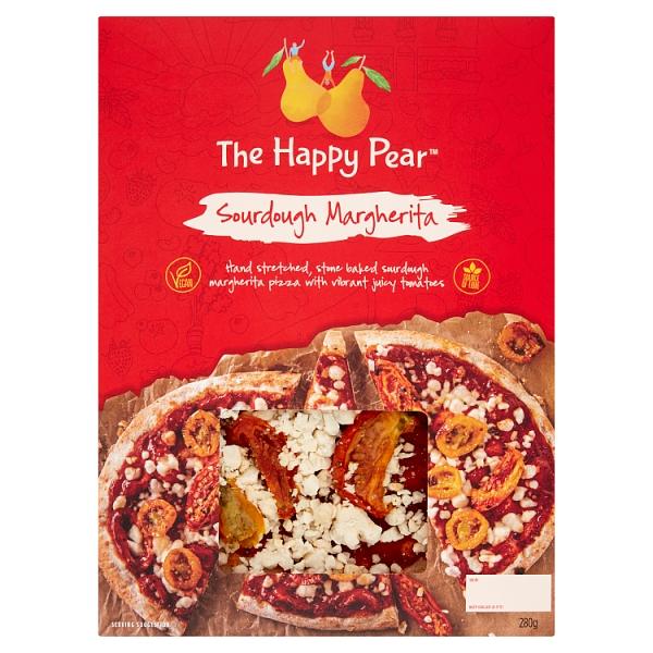 The Happy Pear Sourdough Margherita Pizza