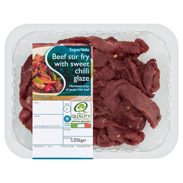 SuperValu Chilli Beef Stir Fry