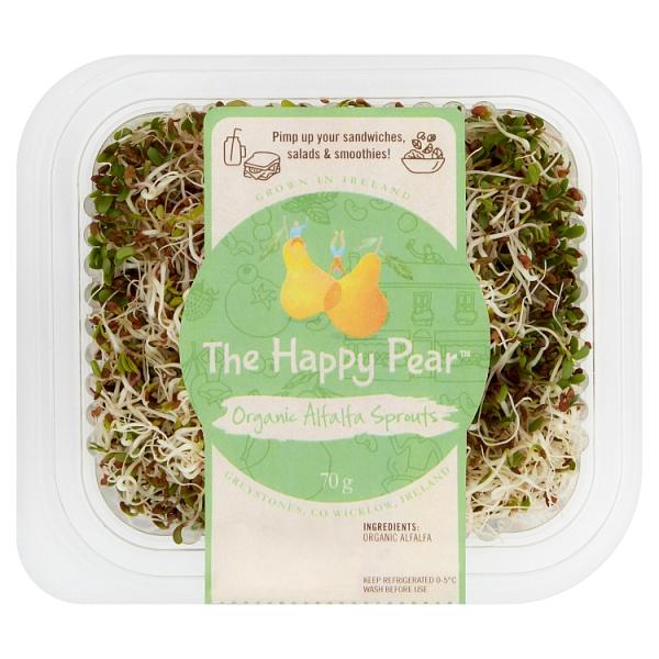 The Happy Pear Organic Alfalfa Sprouts