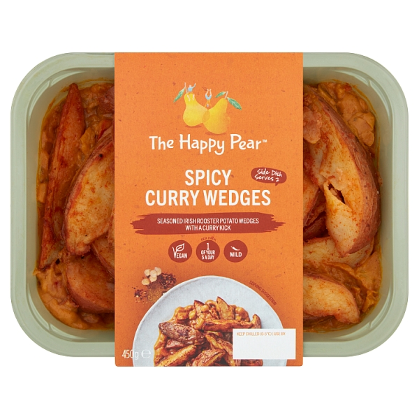The Happy Pear Spicy Curry Wedges