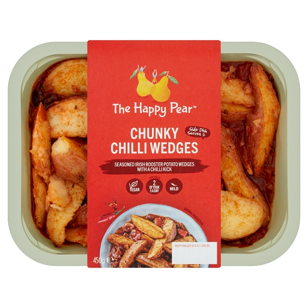 The Happy Pear Chunky Chilli Wedges