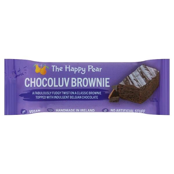 The Happy Pear Chocoluv Brownie Bar
