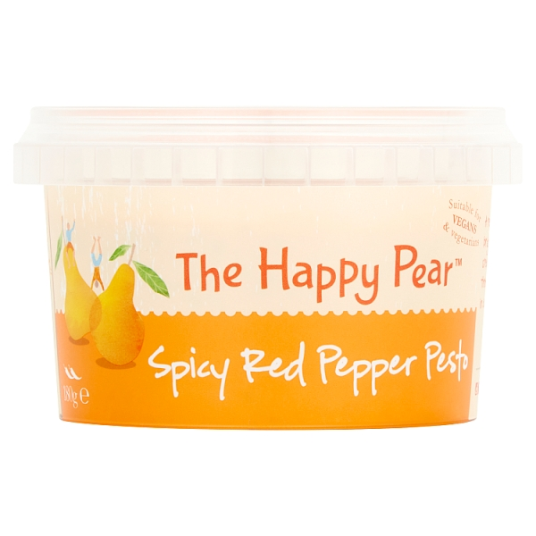 The Happy Pear Spicy Red Pepper Pesto