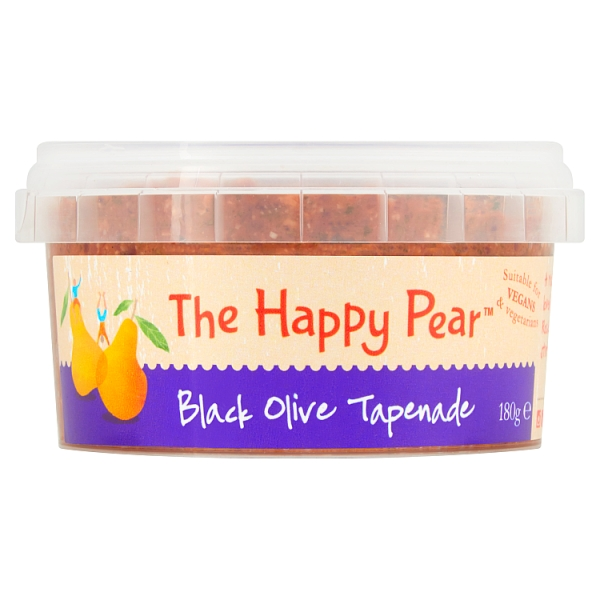 The Happy Pear Black Olive Tapenade