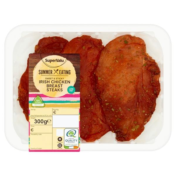SuperValu Fresh Irish Sweet & Sticky Chicken Breast Steaks